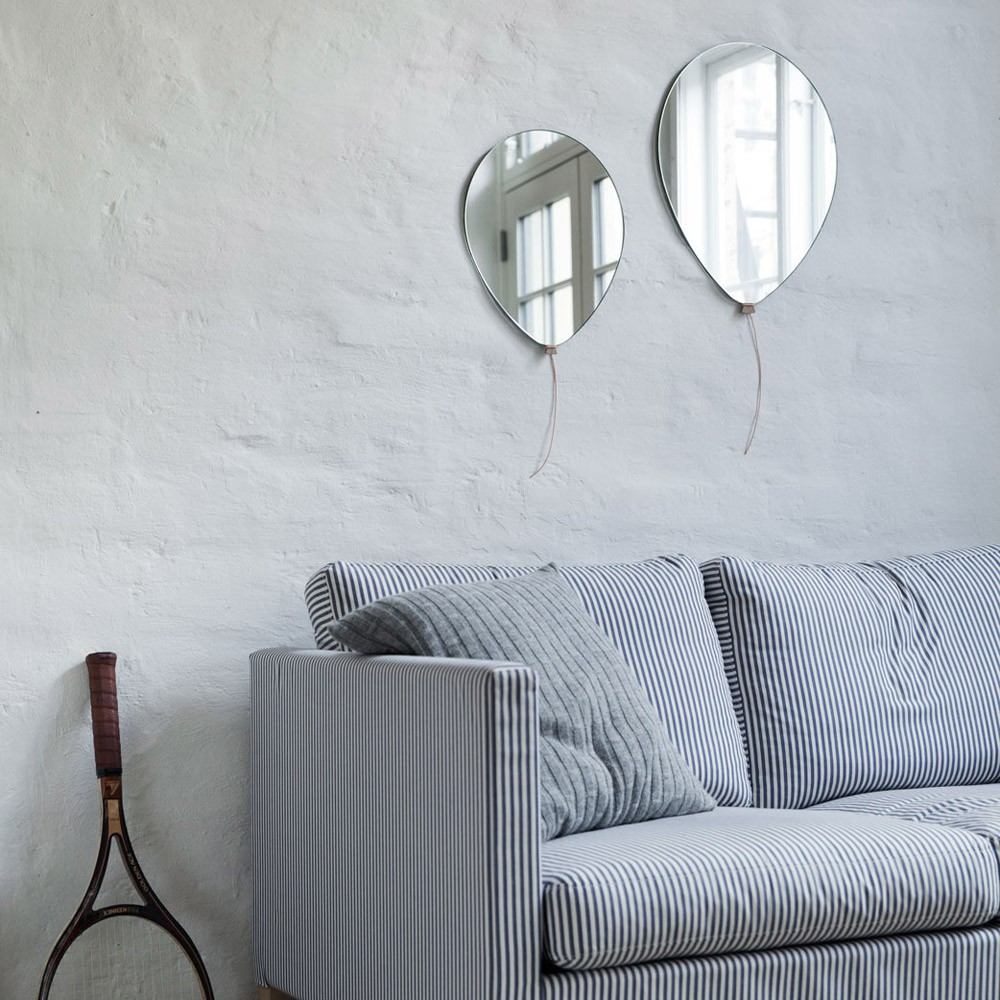 Specchio palloncino di tor nicole vitner serv naturale eo for Miroir 0 coller