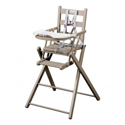 High chairs baby girl for Chaise haute combelle bois