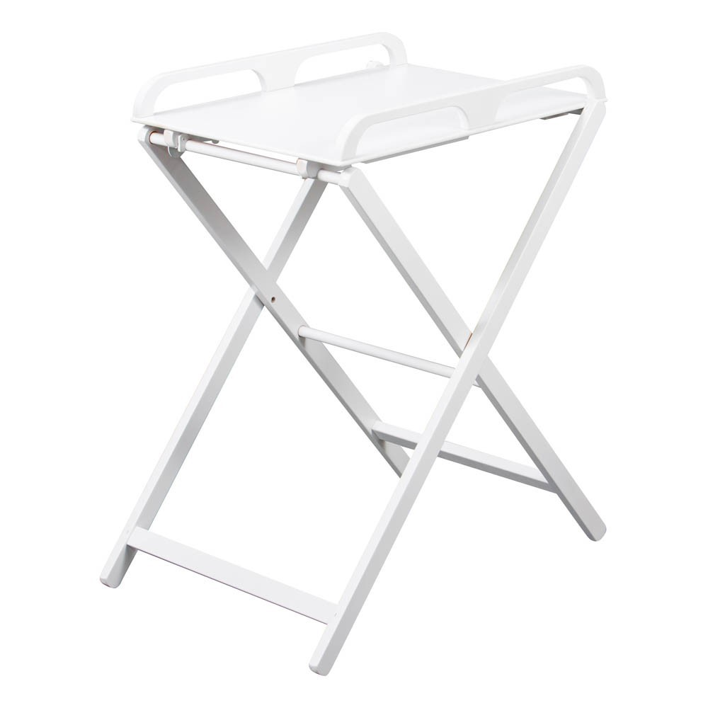 Table langer pliante jade laqu blanc combelle design - Table a langer compact ...