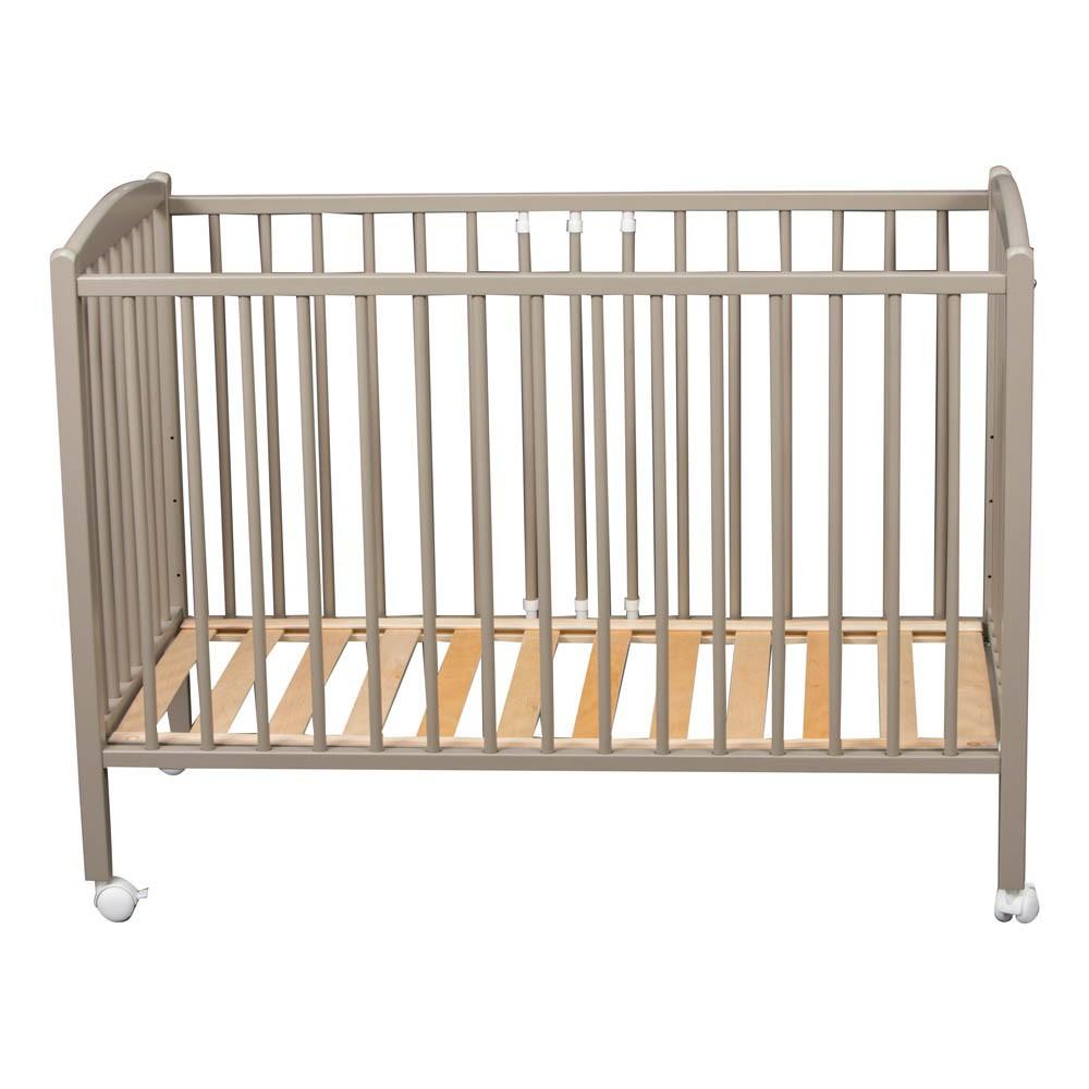 lit b b arthur 70x140 cm laqu gris combelle design b b. Black Bedroom Furniture Sets. Home Design Ideas