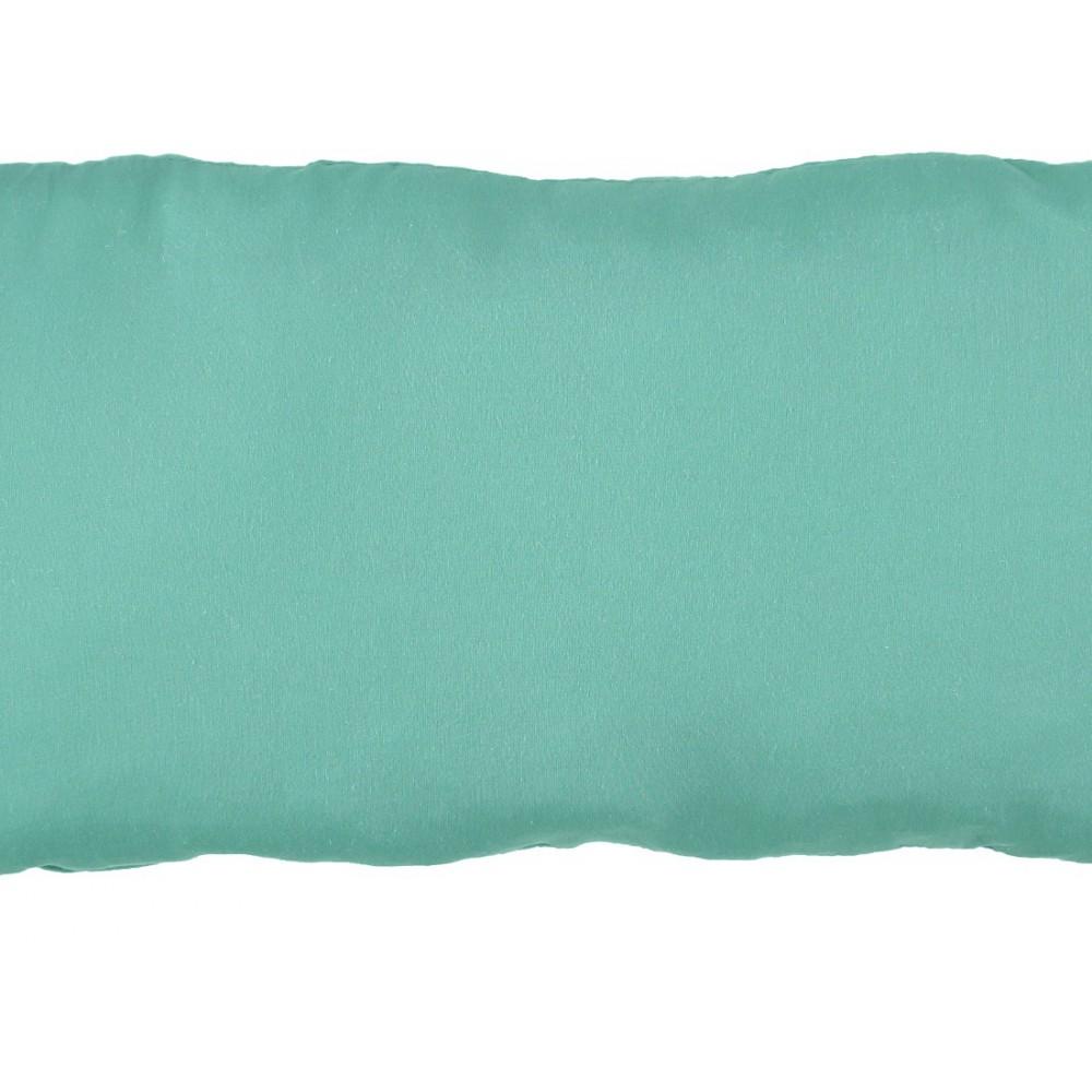 coussin en coton garni rectangle vert d 39 eau nobodinoz design. Black Bedroom Furniture Sets. Home Design Ideas