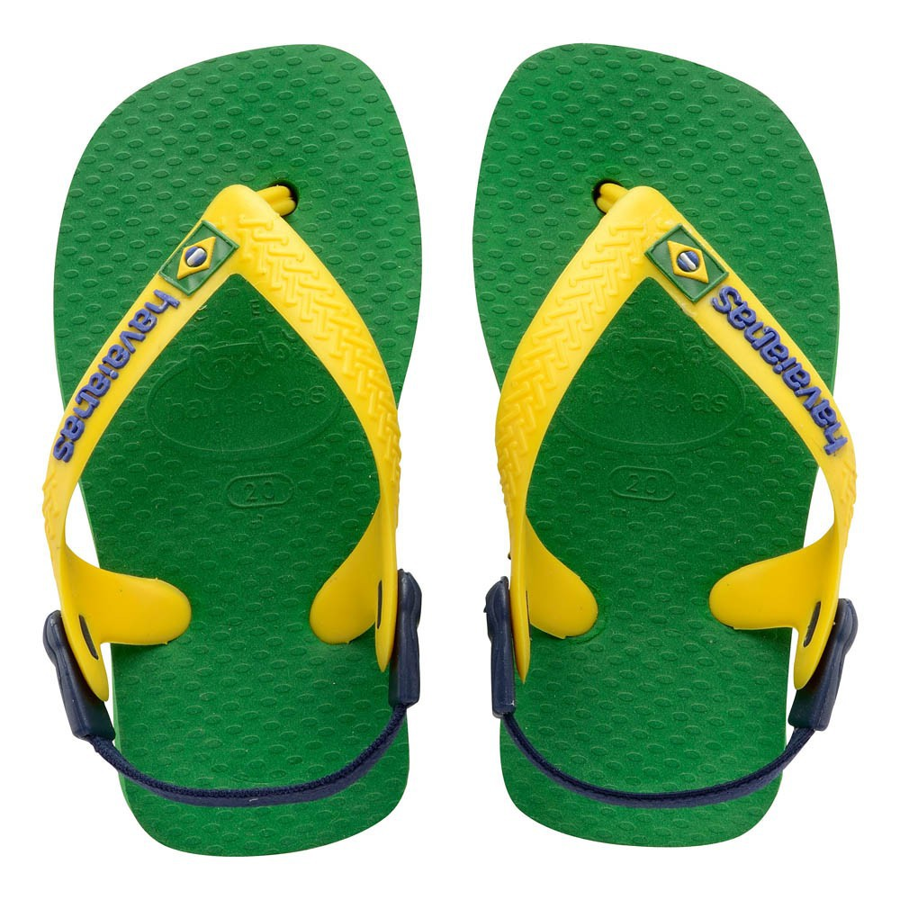 tongs baby brasil logo vert havaianas chaussure b b enfant. Black Bedroom Furniture Sets. Home Design Ideas