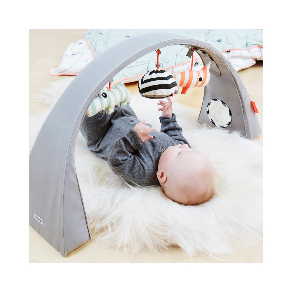 arche d 39 activit gris done by deer design adolescent b b. Black Bedroom Furniture Sets. Home Design Ideas