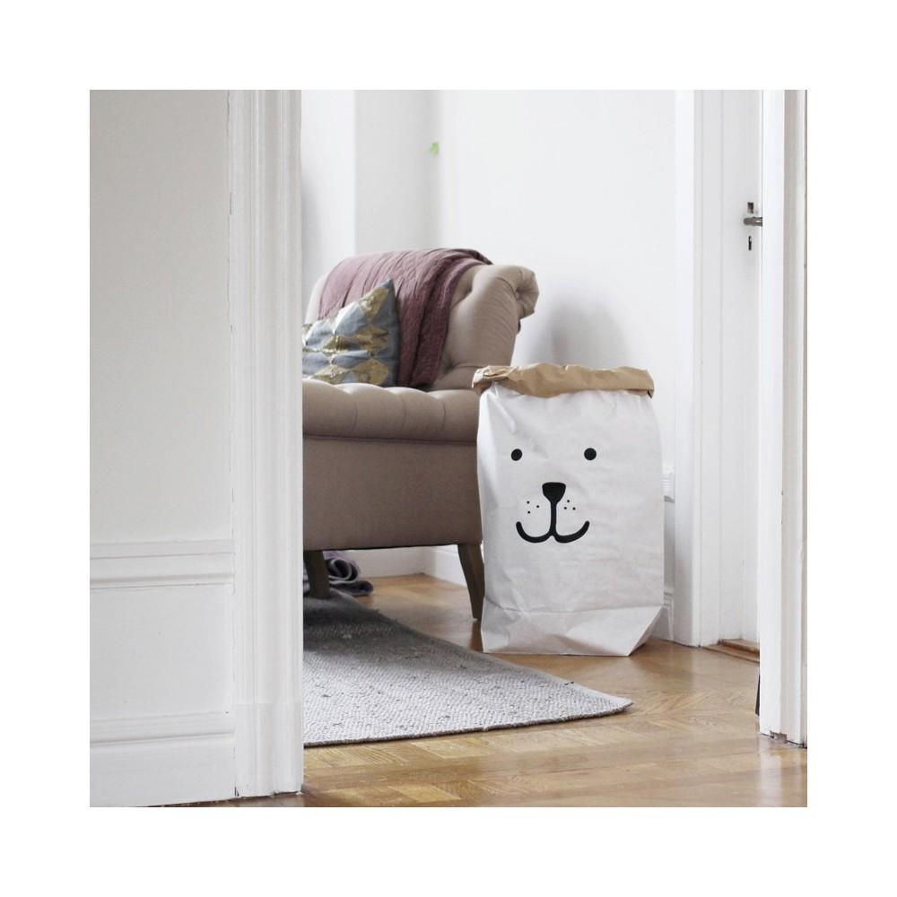 sac de rangement ours tellkiddo design enfant. Black Bedroom Furniture Sets. Home Design Ideas