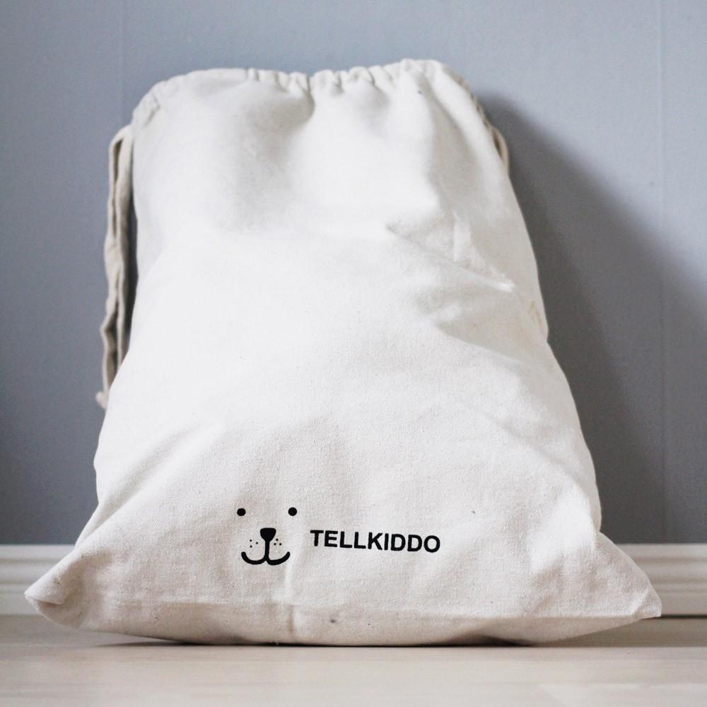 sac de rangement en tissu toys tellkiddo design enfant. Black Bedroom Furniture Sets. Home Design Ideas