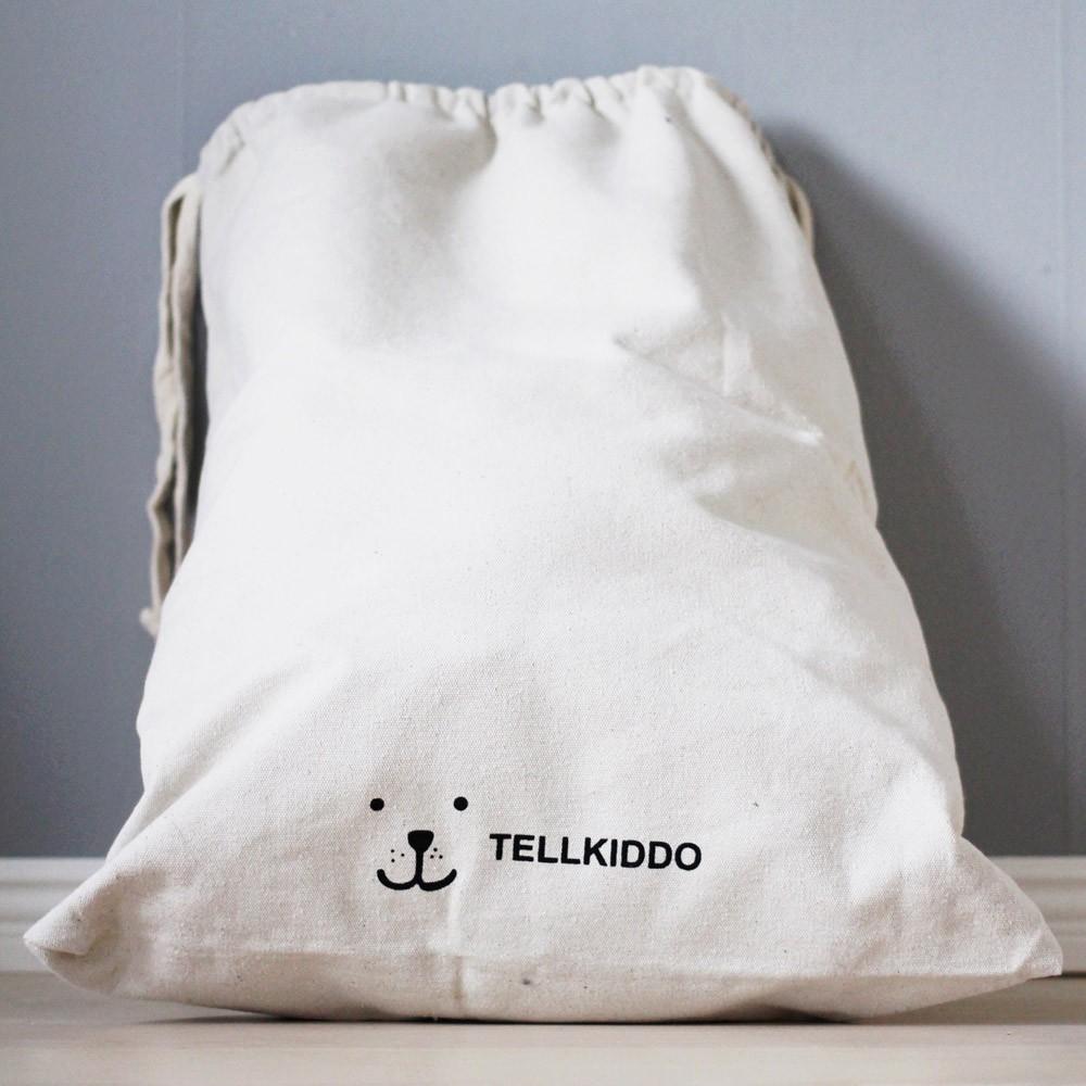 sac de rangement en tissu alphabet tellkiddo design enfant. Black Bedroom Furniture Sets. Home Design Ideas