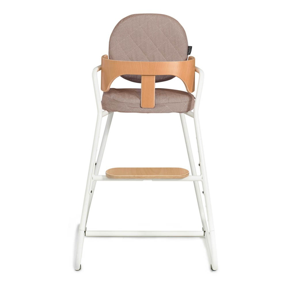 Assise en coton pour chaise tibu brun charlie crane design for Assise pour chaise haute
