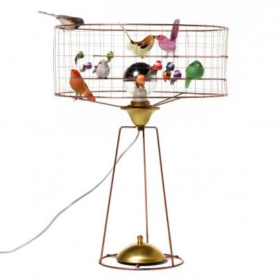 stehlampe vogelhaus bunt mathieu challi res design kind. Black Bedroom Furniture Sets. Home Design Ideas