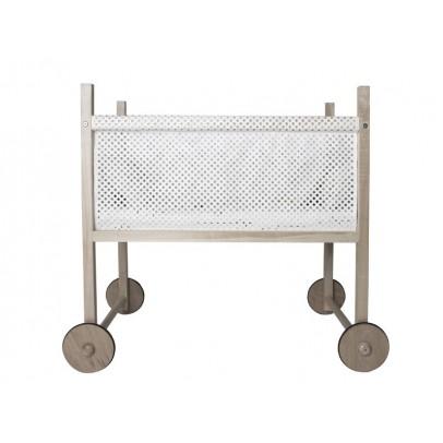 wiege joy 40x90 cm weiß quax design baby - Babybjorn Babywiege Design Harmony