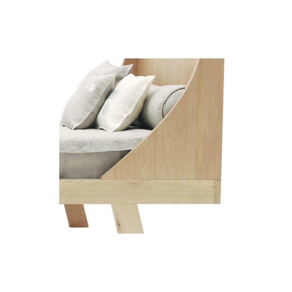lit nido 190 x 90 cm naturel krethaus design enfant. Black Bedroom Furniture Sets. Home Design Ideas