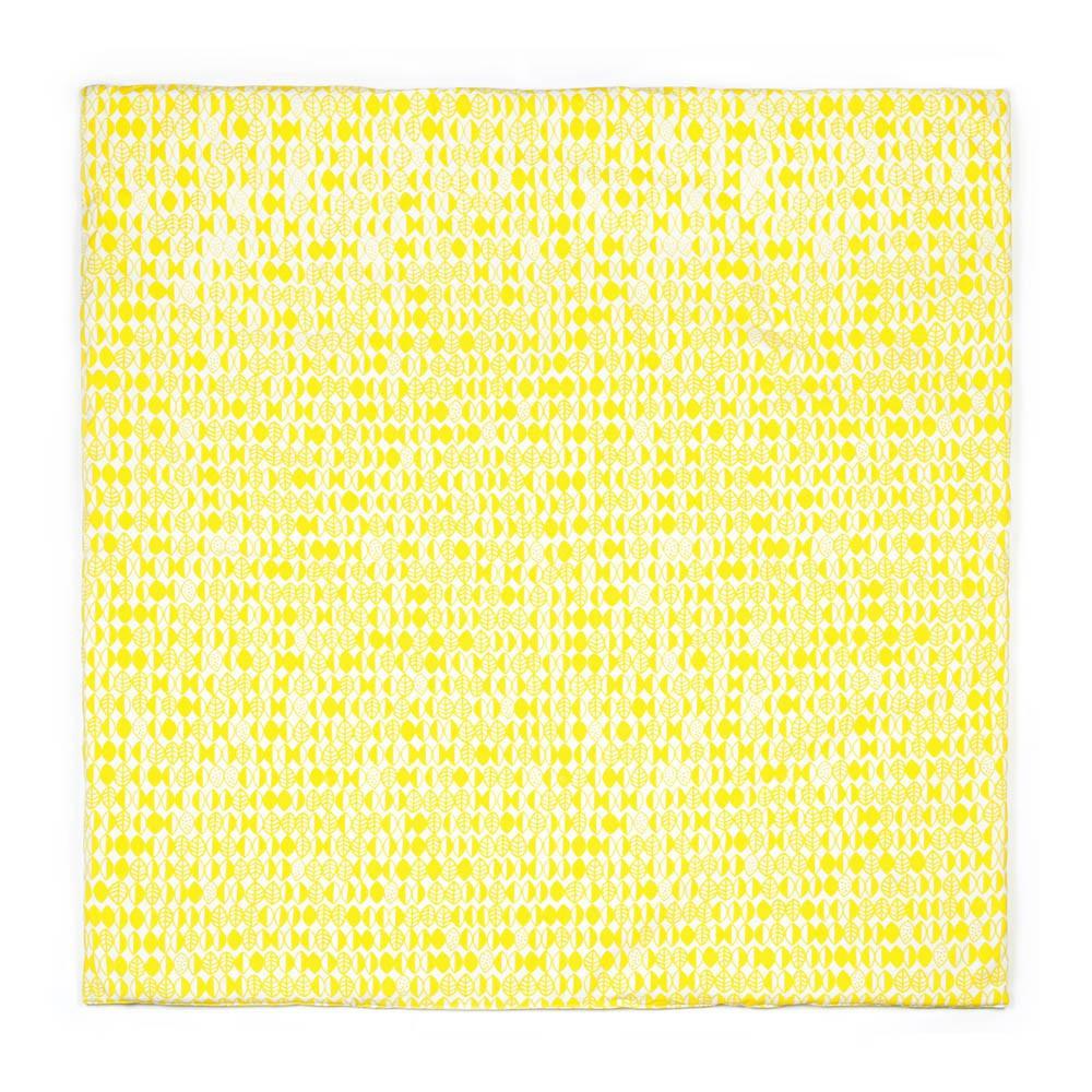 matratze aus baumwoll canvas 100x100 cm gelb deuz spiele und. Black Bedroom Furniture Sets. Home Design Ideas