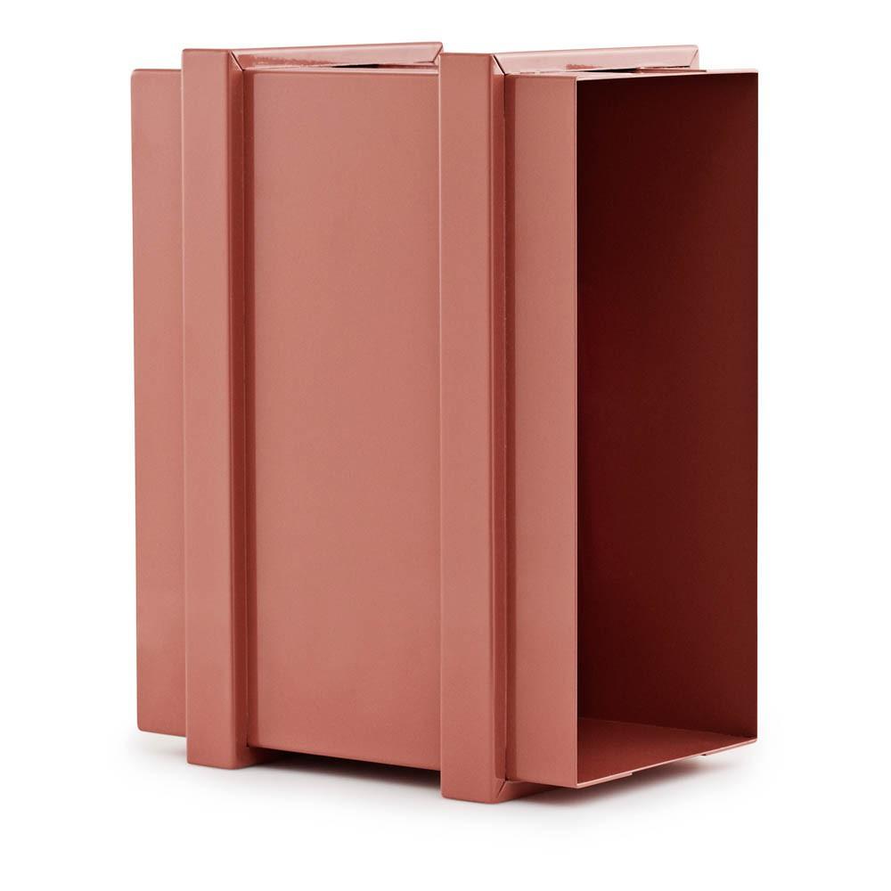 casier de rangement color box superposable rouille normann. Black Bedroom Furniture Sets. Home Design Ideas