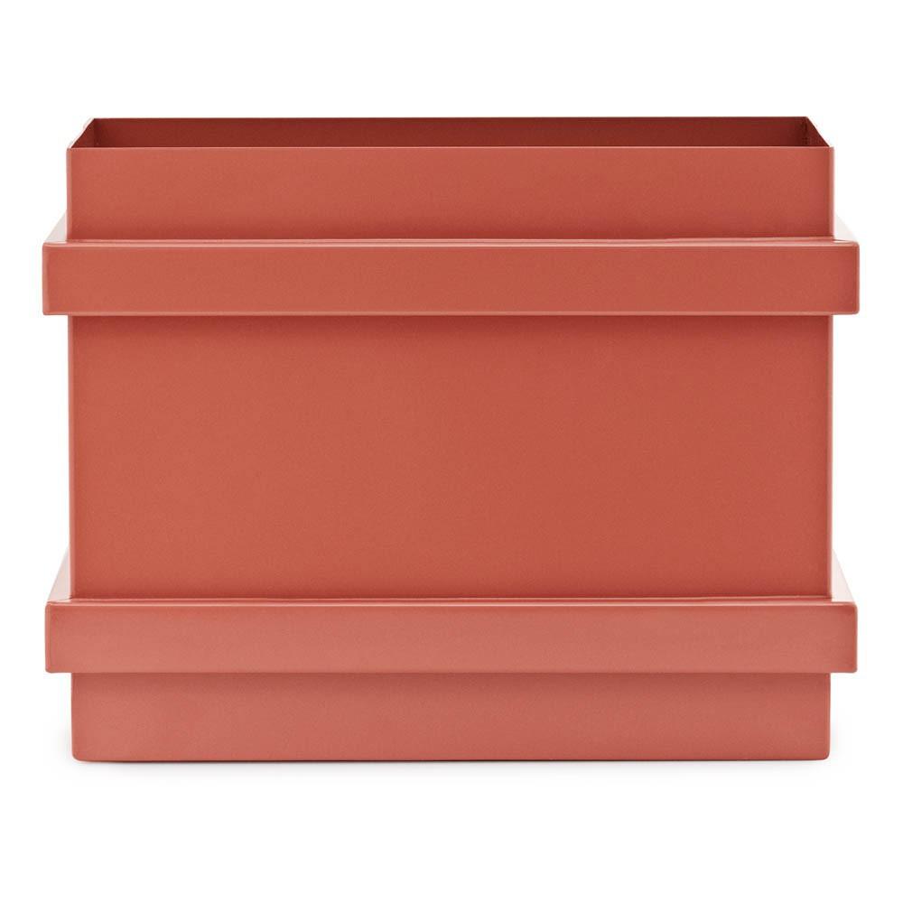 Casier de rangement color box superposable rouille normann - Casier de rangement enfant ...