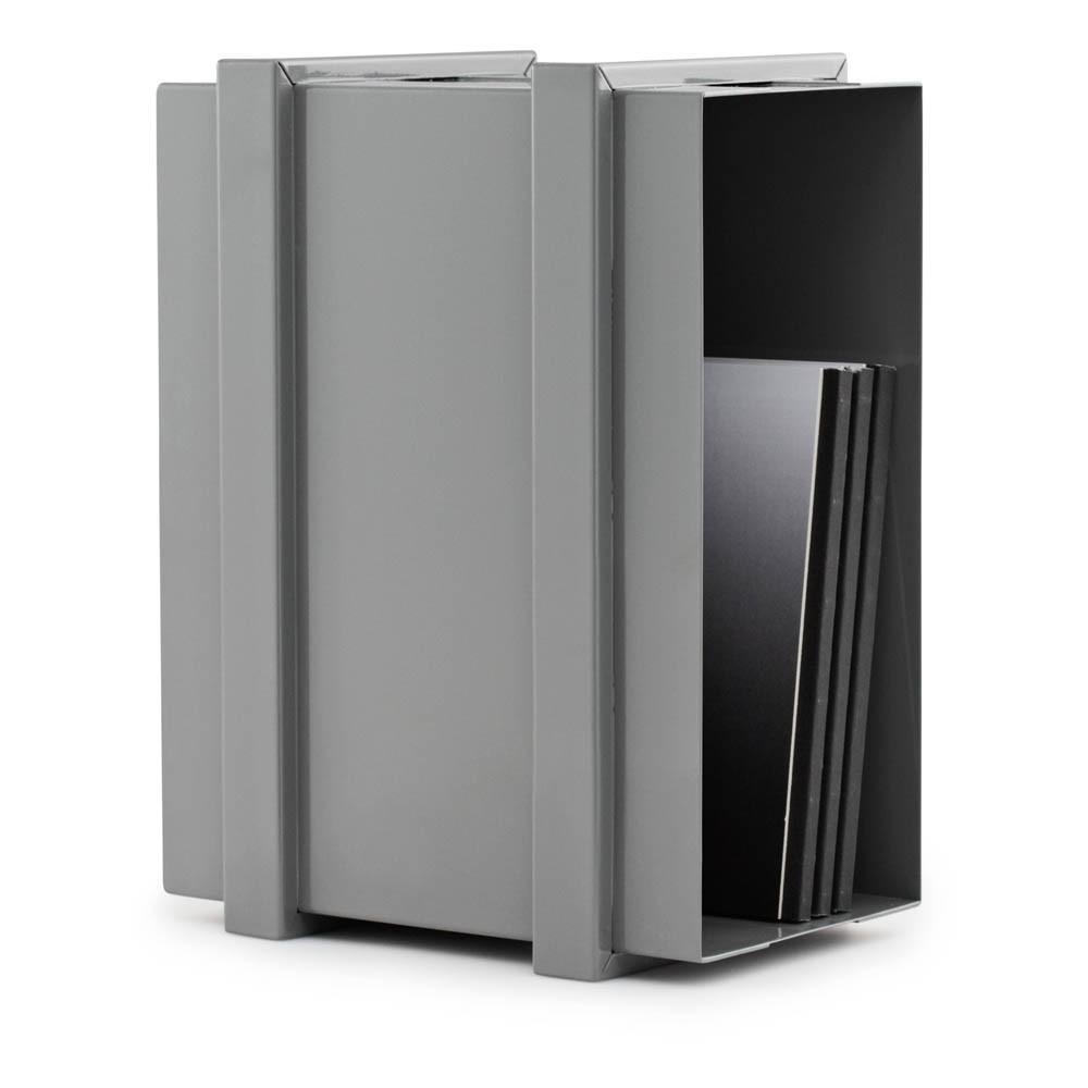 casier de rangement color box superposable gris normann. Black Bedroom Furniture Sets. Home Design Ideas