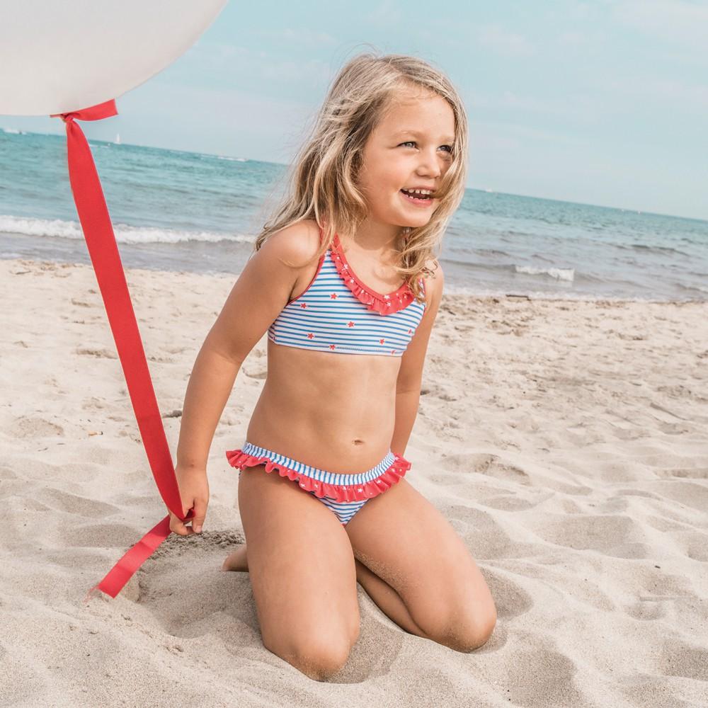 Bikini Marin Girl Bleu marine Archimède Mode Enfant