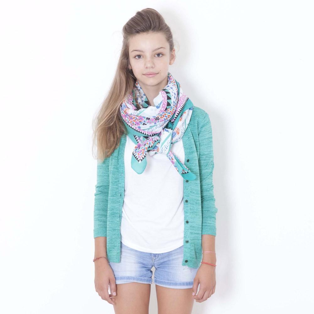 Sarong scarf pink le petit lucas du tertre fashion teen - Le petit lucas du tertre ...