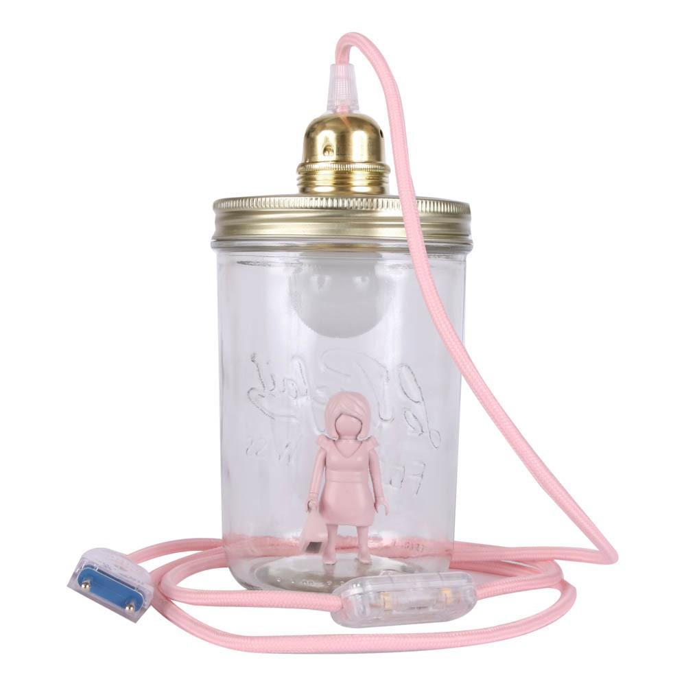 l mpara bocal para apoyar playmobil rosa palo la t te dans le. Black Bedroom Furniture Sets. Home Design Ideas