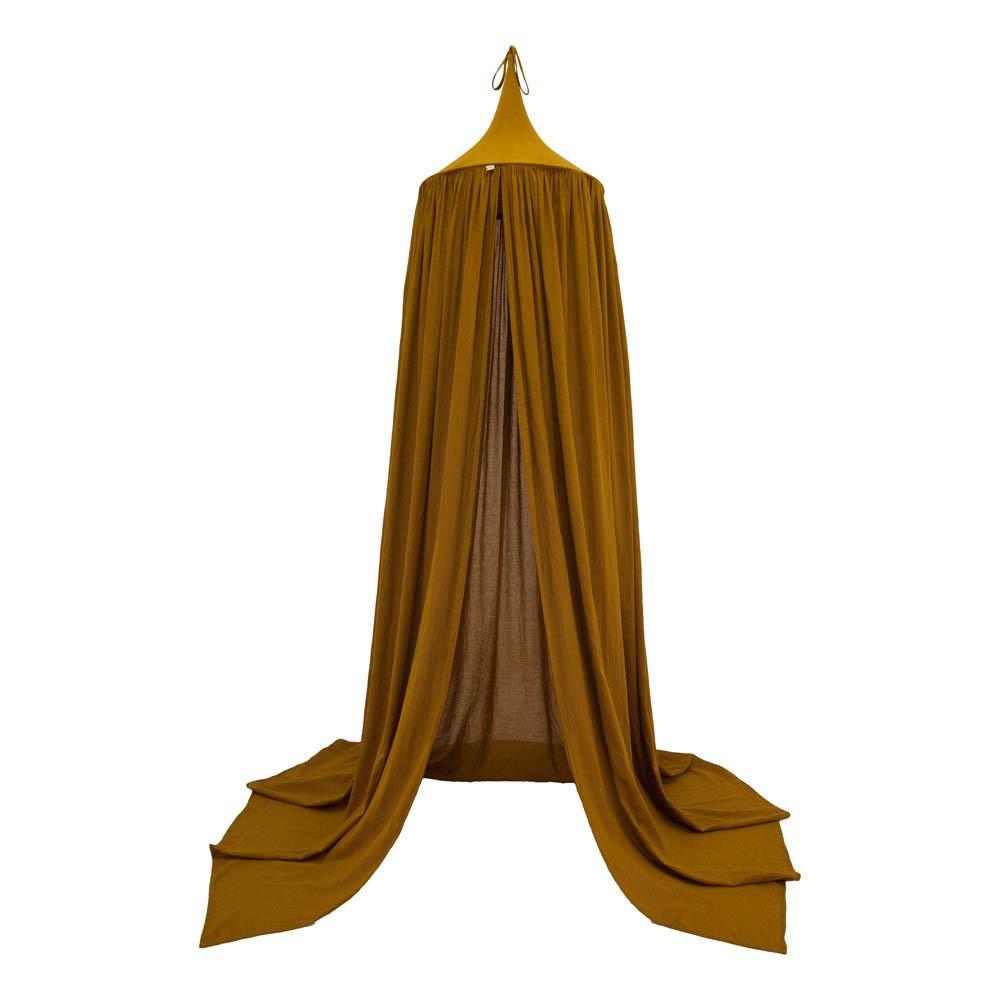 ciel de lit jaune moutarde numero 74 design b b. Black Bedroom Furniture Sets. Home Design Ideas