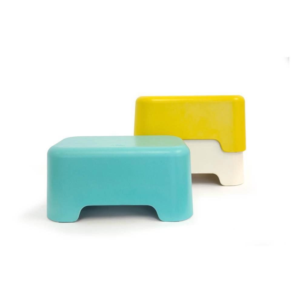 marche pied bano jaune ekobo design b b enfant. Black Bedroom Furniture Sets. Home Design Ideas