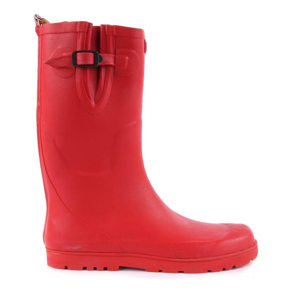 Bottes de pluie woodypop rouge cerise aigle chaussure adolescent - Bottes de pluie aigle ...