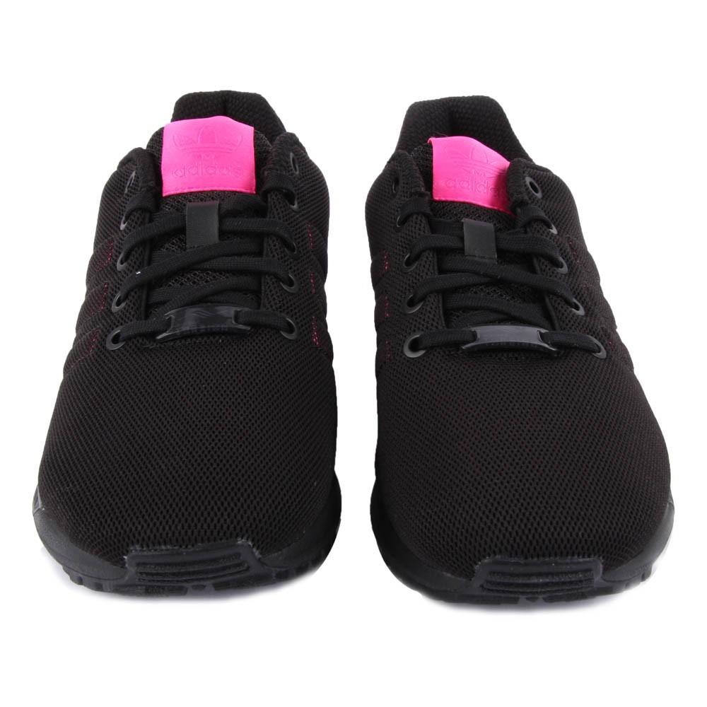 adidas flux rose et noir