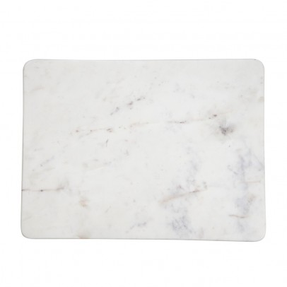 Planche d couper ronde en marbre marbr blanc madam stoltz - Planche a decouper en marbre ...