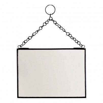 Miroir extra plat biseaut forme al atoire rectangulaire for Miroir horizontal