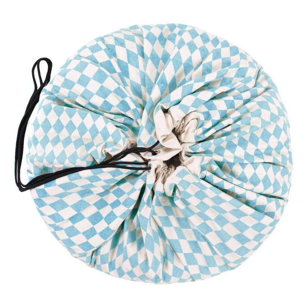sac tapis de jeux losanges bleu play and go jouet et loisir. Black Bedroom Furniture Sets. Home Design Ideas
