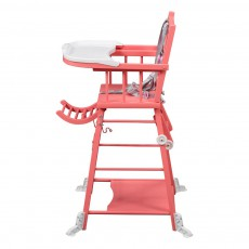 chaise haute extra pliante naturel combelle design b b. Black Bedroom Furniture Sets. Home Design Ideas