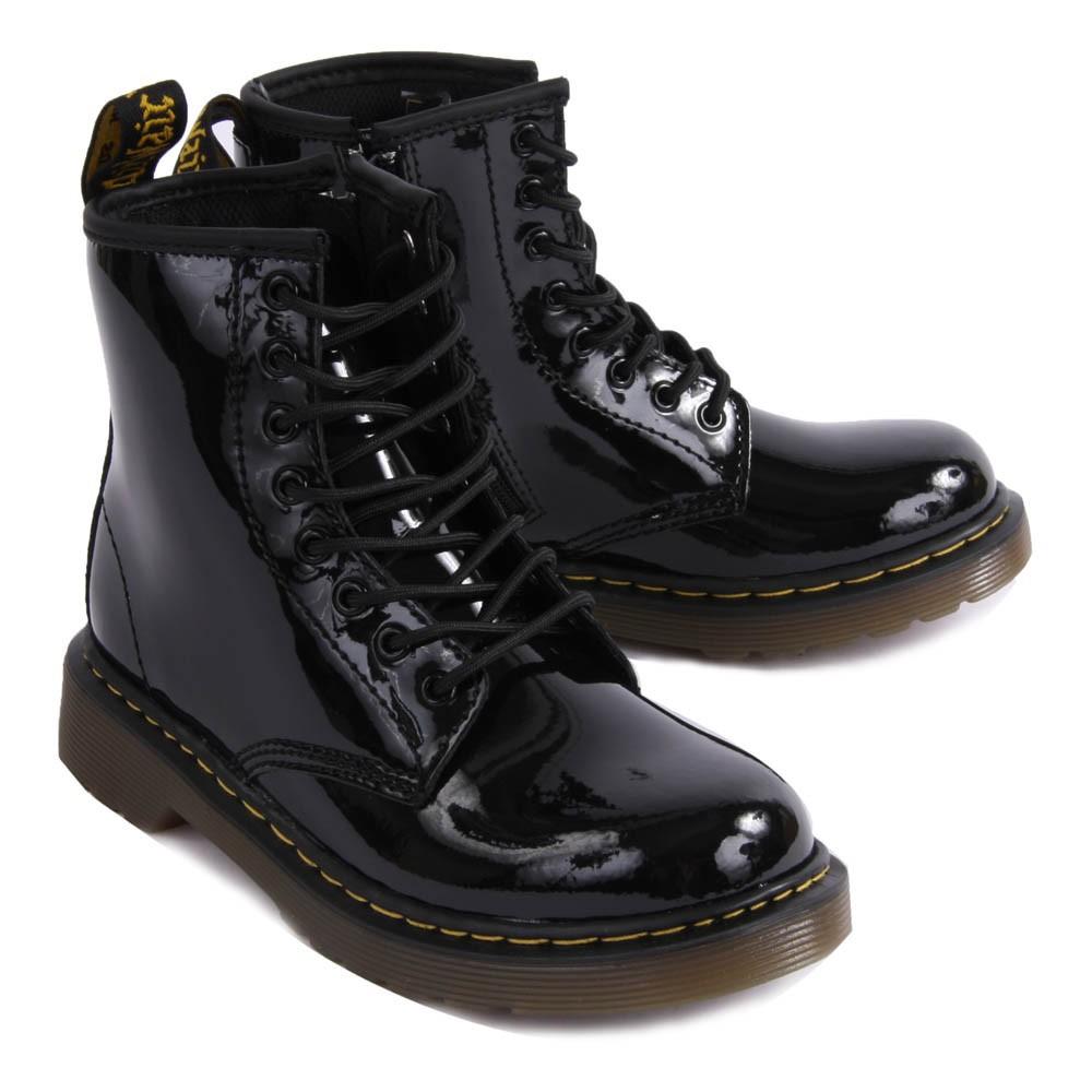 boots vernis core 1460 noir dr martens chaussure adolescent. Black Bedroom Furniture Sets. Home Design Ideas