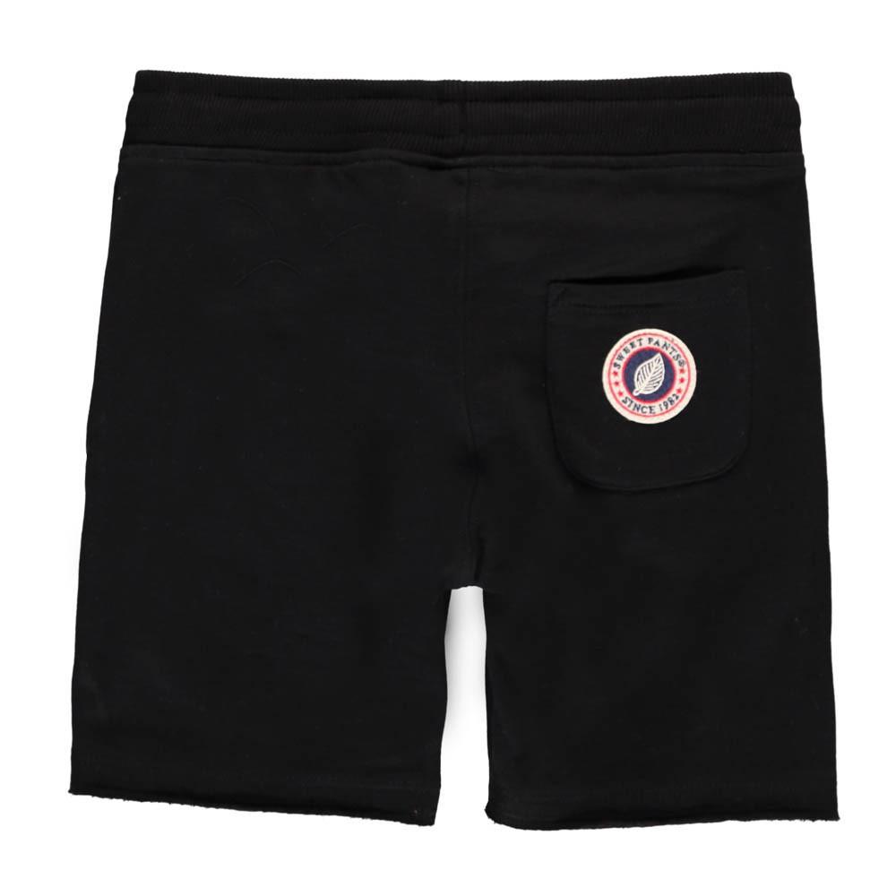 short molleton terry noir sweet pants mode adolescent enfant. Black Bedroom Furniture Sets. Home Design Ideas