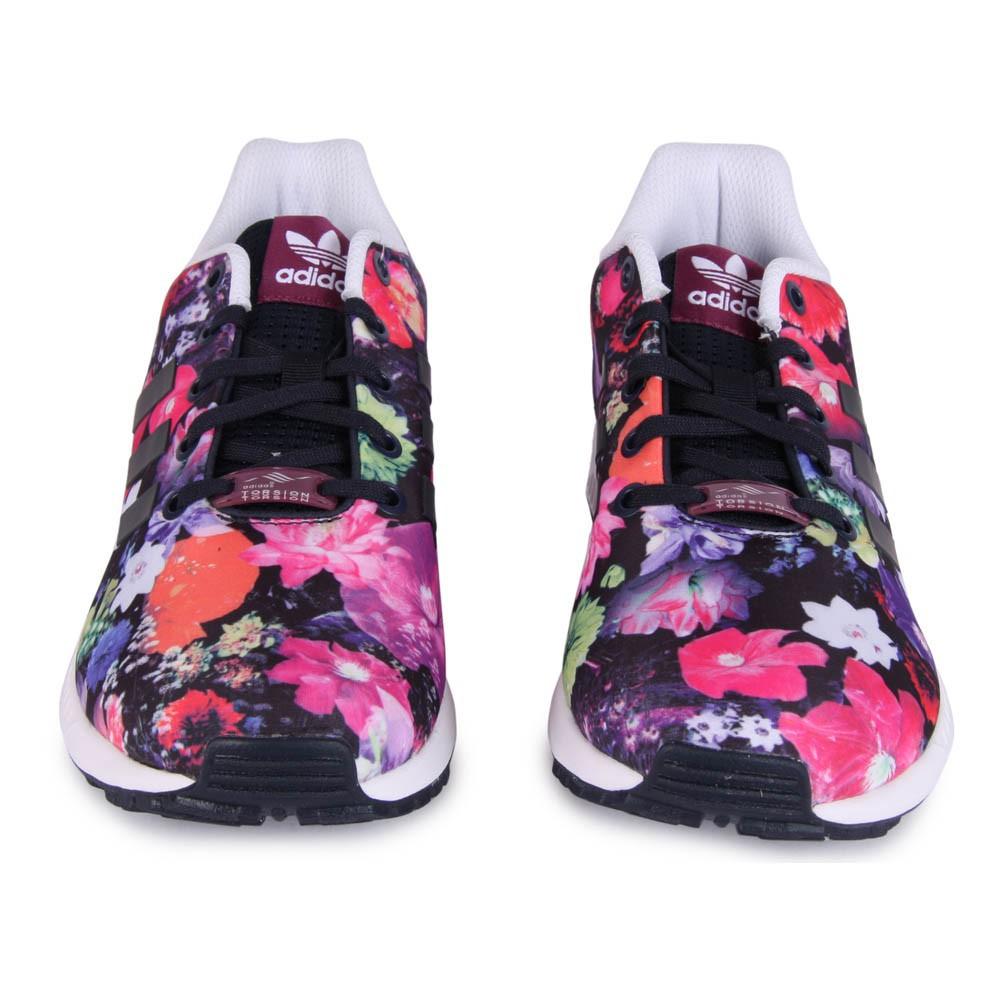 adidas zx flux con i fiori