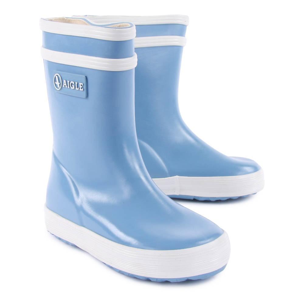 Bottes de pluie lolly pop bleu ciel aigle chaussure enfant - Bottes aigle enfant ...