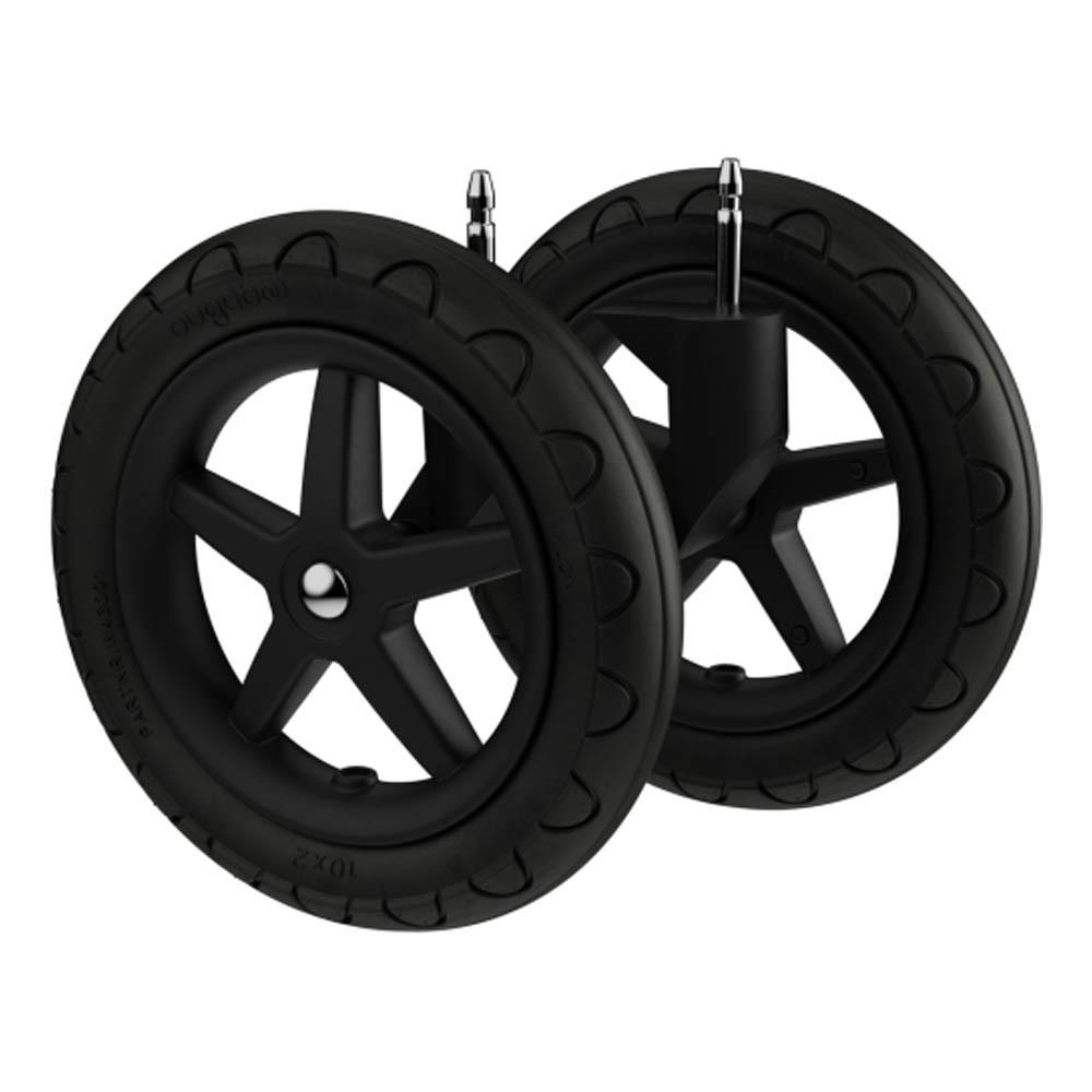 roues tout terrain pour cameleon set de 2 noir bugaboo design. Black Bedroom Furniture Sets. Home Design Ideas