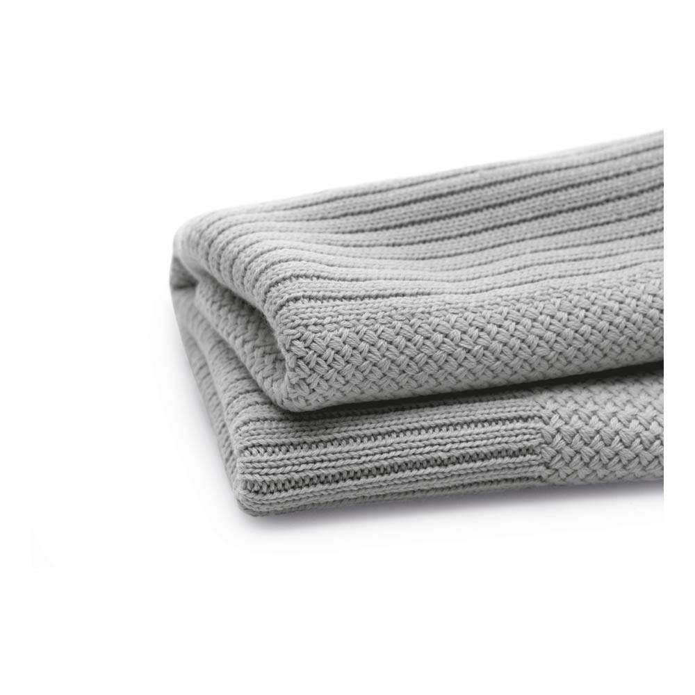 couverture en laine 80x100 cm gris clair bugaboo design b b. Black Bedroom Furniture Sets. Home Design Ideas