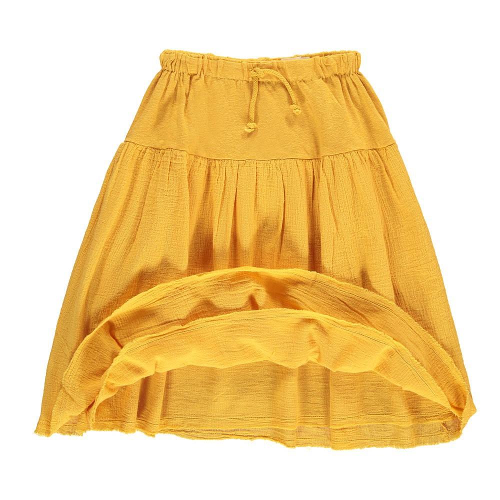 jupe longue roxy jaune moutarde nico nico mode enfant. Black Bedroom Furniture Sets. Home Design Ideas
