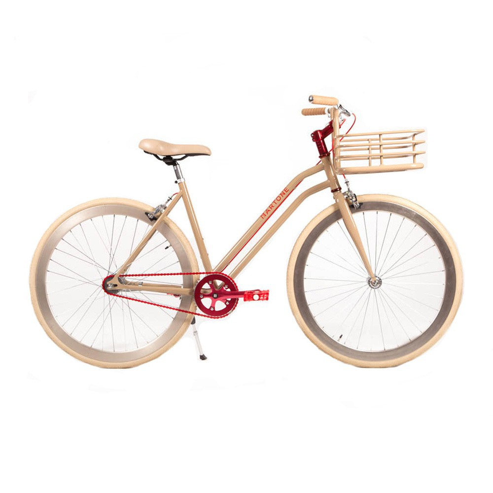 v lo pour femme sweetzer beige martone cycling co jouet et. Black Bedroom Furniture Sets. Home Design Ideas