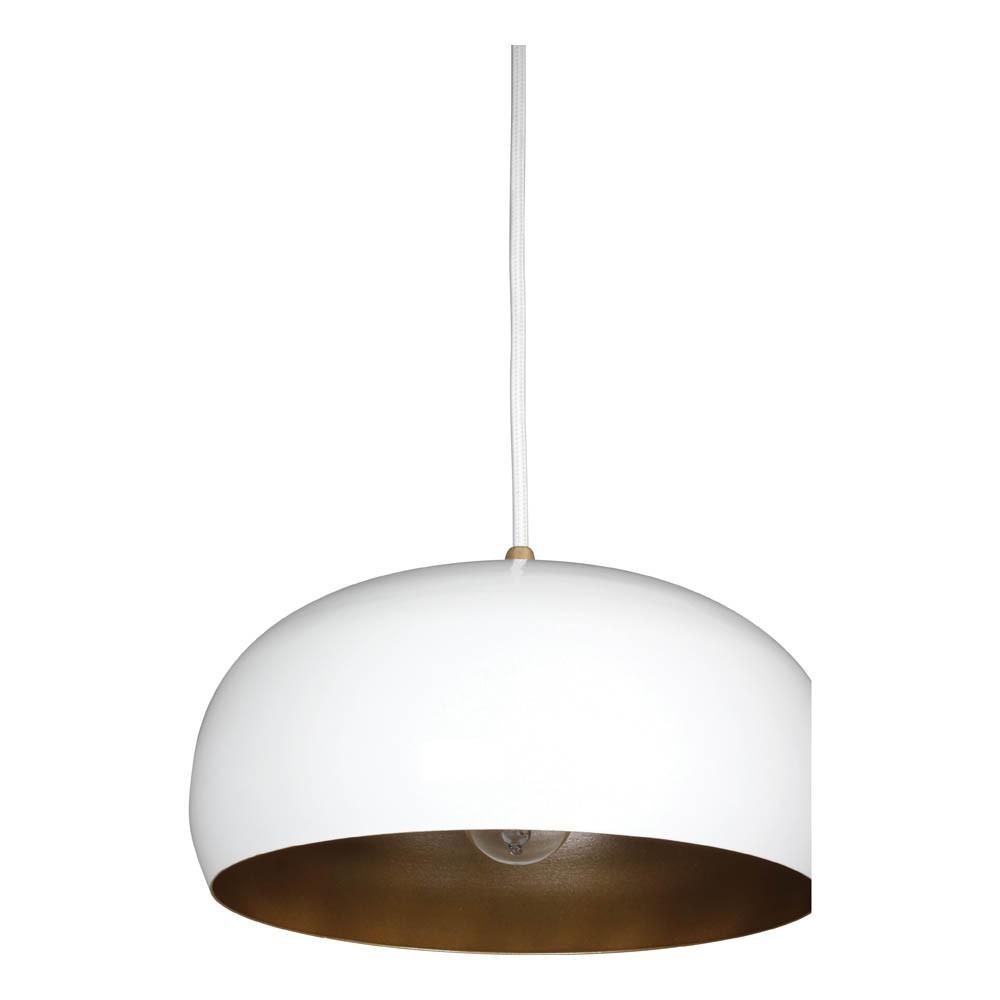 Suspension rhoda ch ne et m tal blanc lampari design enfant - Suspension metal blanc ...