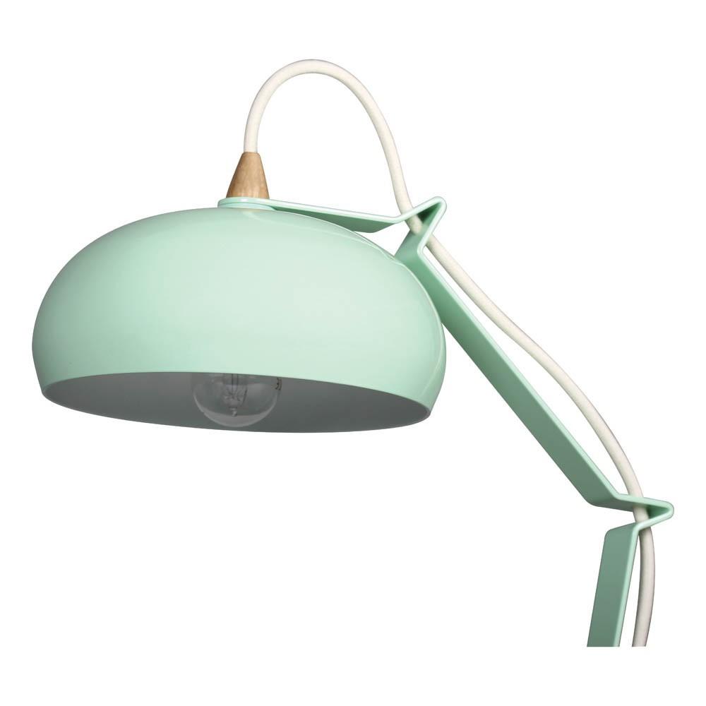 lampe rhoda eiche und metall mandelgr n lampari design. Black Bedroom Furniture Sets. Home Design Ideas