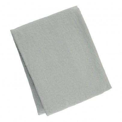 Nappe en lin lav carreaux blanc noir blanc linge particulier - Nappe en lin lave ...