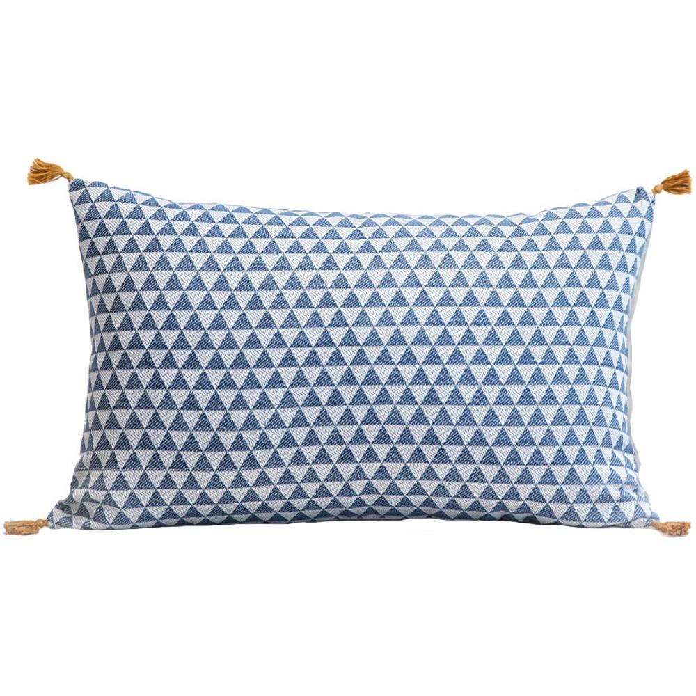 coussin tiss alice bleu canard jamini design enfant. Black Bedroom Furniture Sets. Home Design Ideas