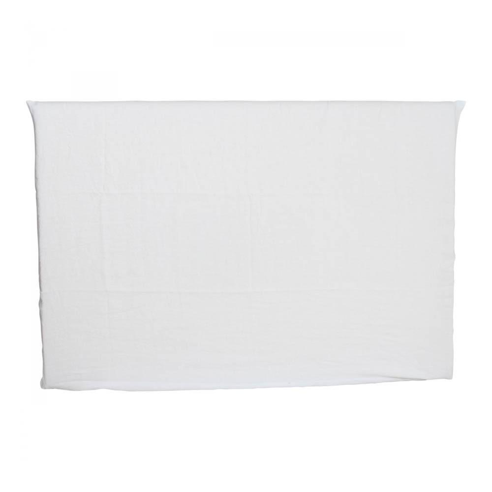 Fodera per testata letto in lino lavato letto 2 persone - Fodera testata letto ...