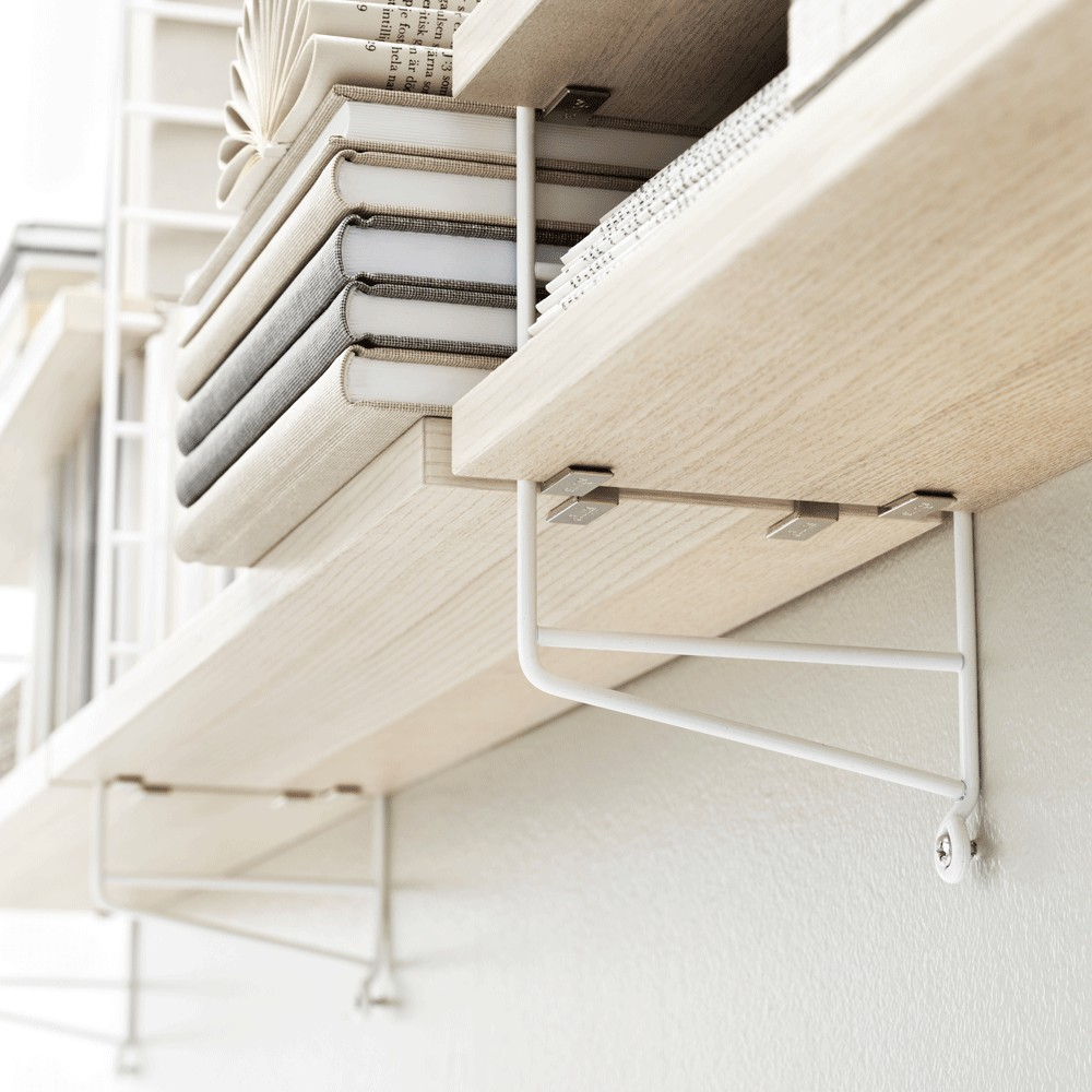 Estanter a pocket abedul blanco string furniture design adulto - Abedul blanco ...