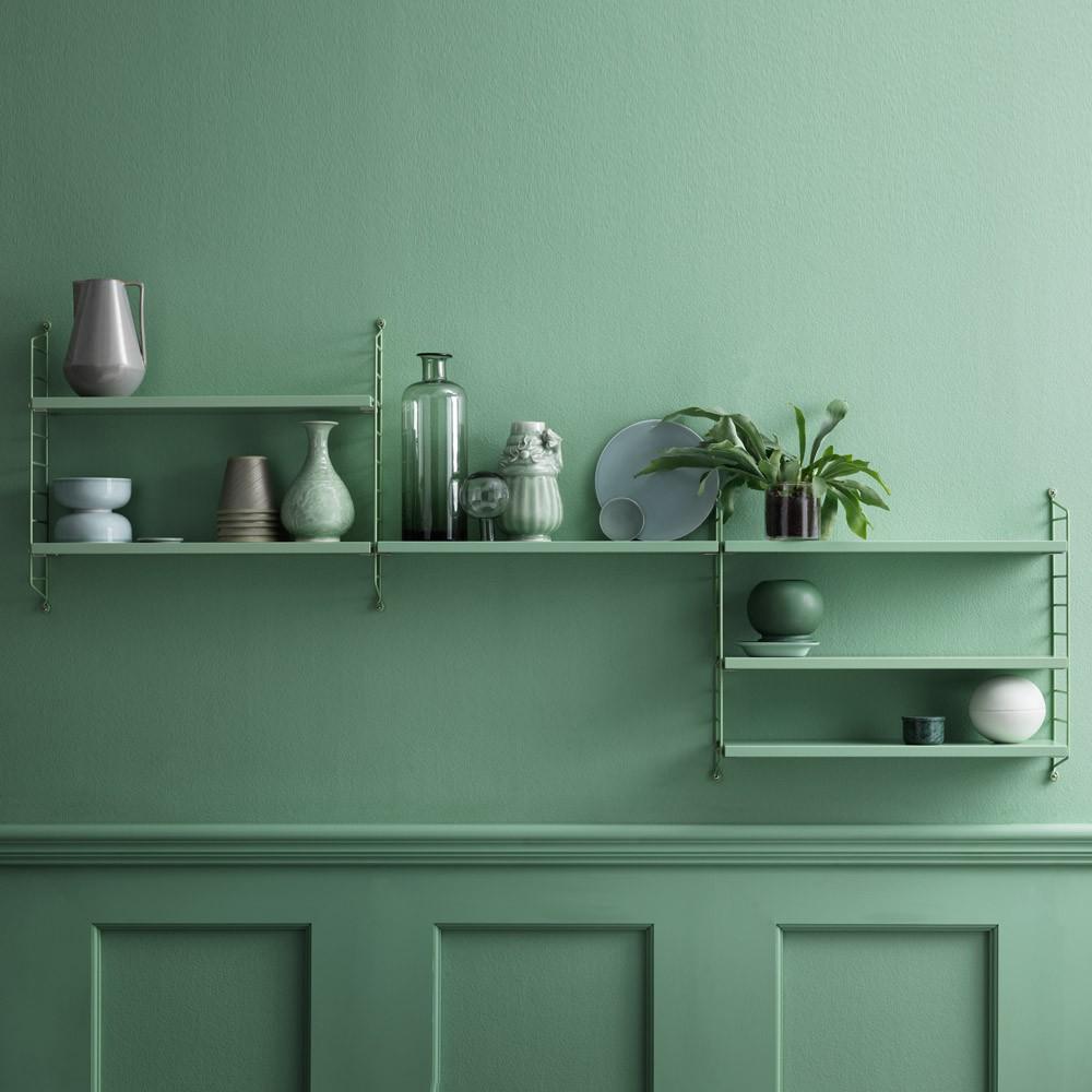 pocket regal mandel gr n string furniture design erwachsene. Black Bedroom Furniture Sets. Home Design Ideas