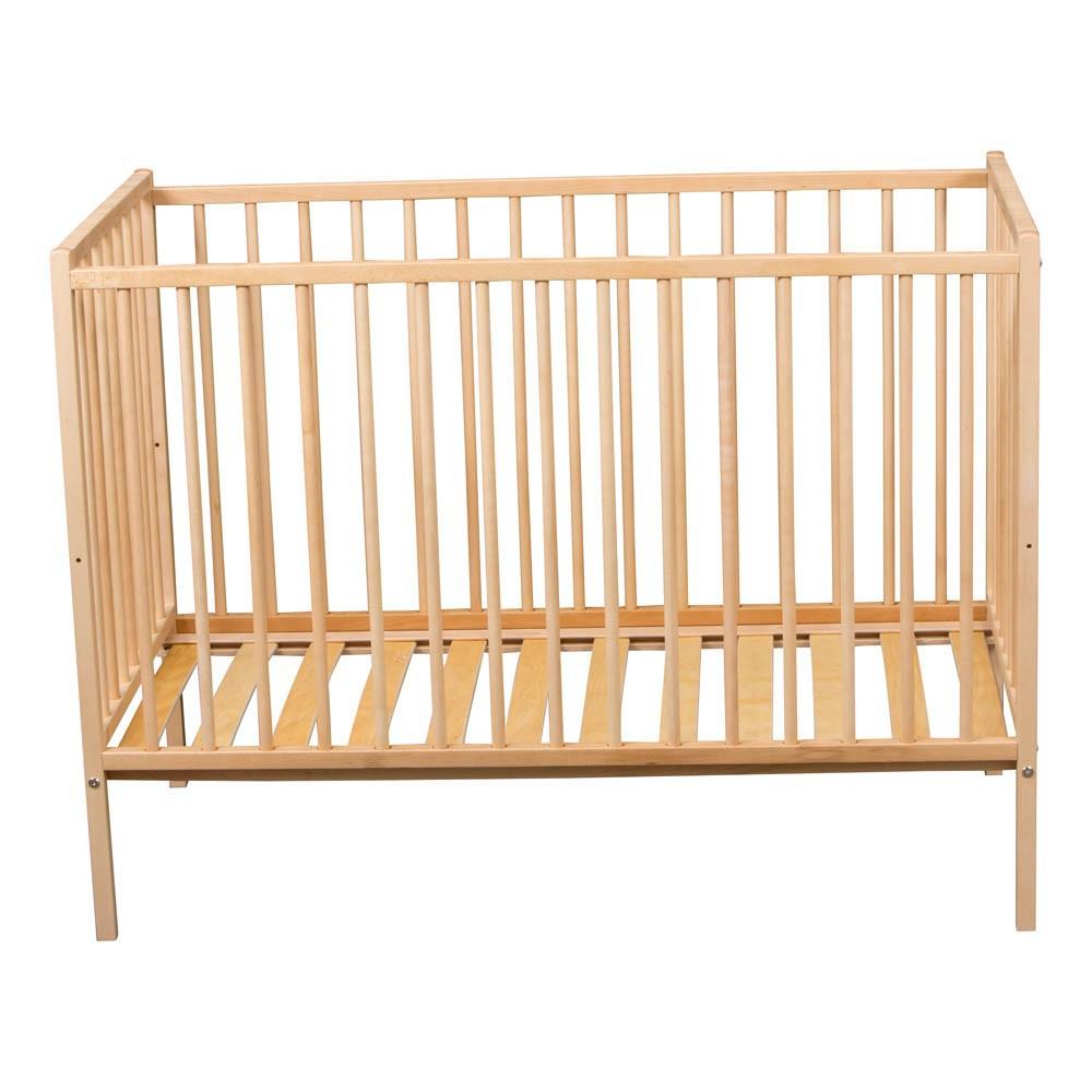 lit b b r mi 70x140 cm naturel combelle design b b. Black Bedroom Furniture Sets. Home Design Ideas