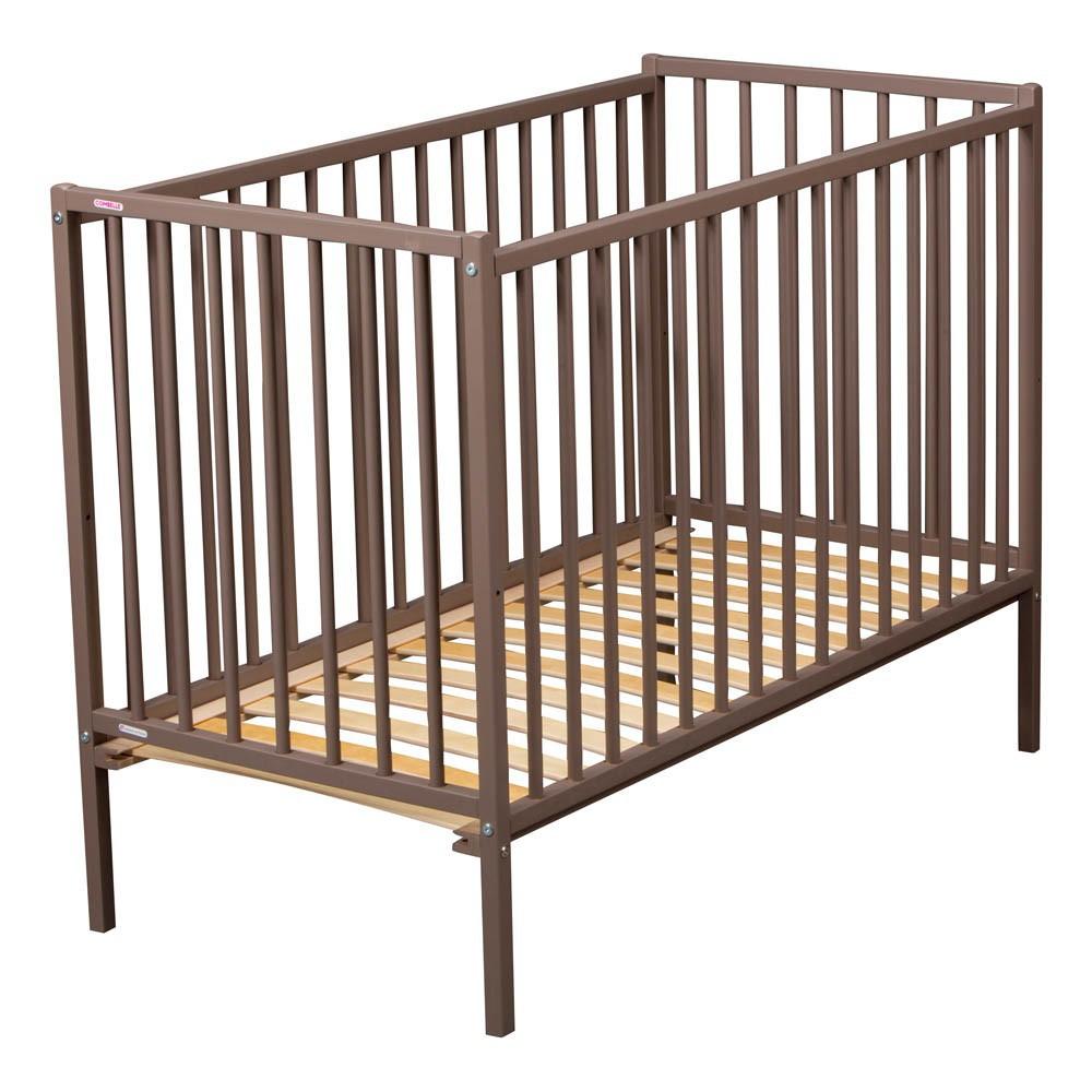 lit b b r mi 70x140 cm laqu taupe combelle design b b. Black Bedroom Furniture Sets. Home Design Ideas