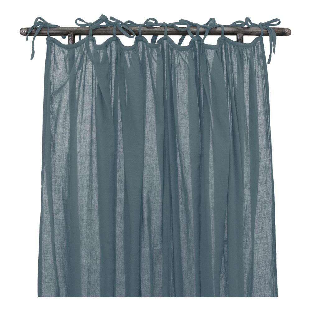 Blue Grey Curtains