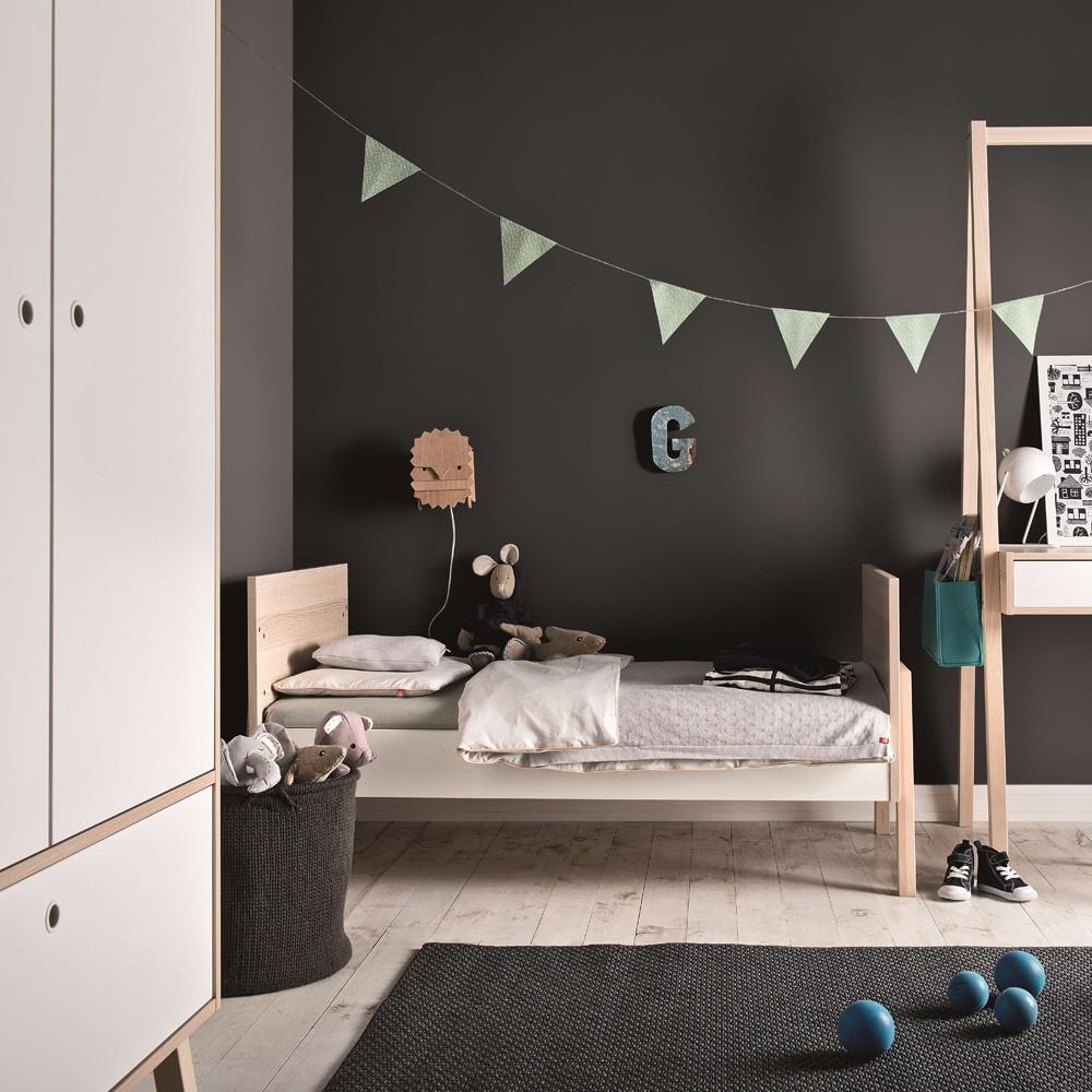 lit volutif spot 70x140 cm naturel vox design b b. Black Bedroom Furniture Sets. Home Design Ideas
