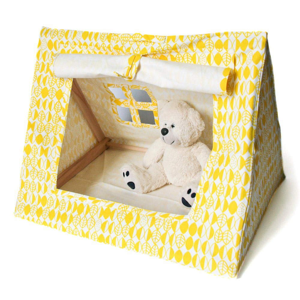 yellow mini tent deuz toys and hobbies teen children. Black Bedroom Furniture Sets. Home Design Ideas