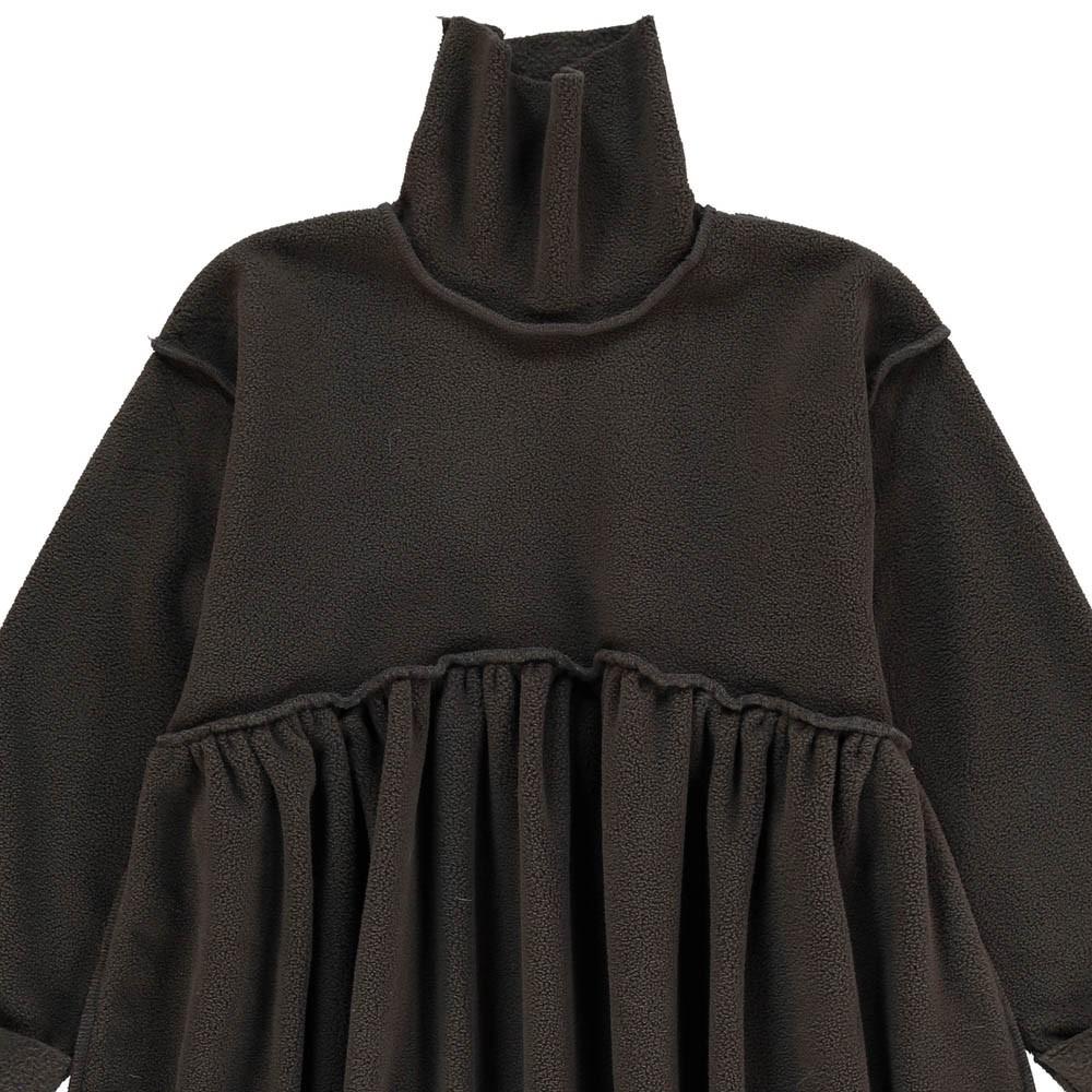 robe col roul gris anthracite tambere mode enfant. Black Bedroom Furniture Sets. Home Design Ideas